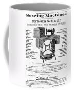 Sewing Machine Ad, 1895 Coffee Mug