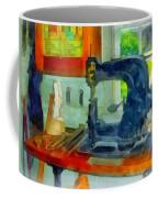 Sewing Machine In Harness Room Coffee Mug