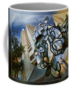 Sf Hyatt Outside Coffee Mug