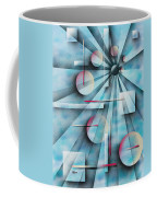 Shades Of Fibonacci Coffee Mug