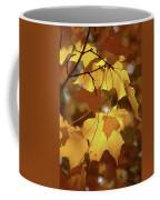 Shadow Dancing Leaves Coffee Mug