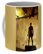 Shadow Wall Statue Coffee Mug