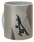 Shadowing Me Coffee Mug by Nikki Marie Smith