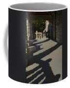 Shadows Cast On The Porch Of Gillette Coffee Mug