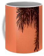 Shadows Of A Palm Coffee Mug