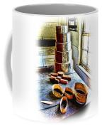 Shaker Box Making Vignette  Coffee Mug