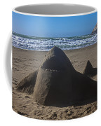 Shark Sand Sculpture Coffee Mug