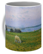 Sheep Grazing Coffee Mug