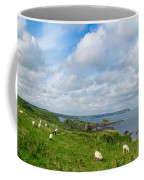 Sheep On A Hill Coffee Mug
