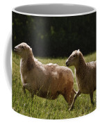 Sheep On The Move Coffee Mug