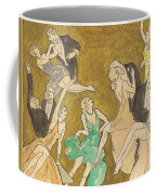 Sheet Music Gold Coffee Mug