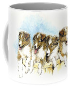 Sheltie Pups Coffee Mug