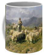 Shepherd Of The Pyrenees Coffee Mug