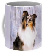 Shetland Sheepdog Portrait Of A Dog Coffee Mug