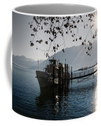 Ship In Backlight Coffee Mug