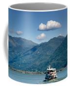 Ship On A Lake Coffee Mug