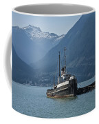 Shipping Freighter In Squamish British Columbia No.0187 Coffee Mug