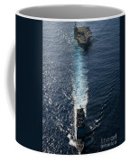 Ships From The John C. Stennis Carrier Coffee Mug by Stocktrek Images