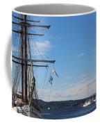 Ships In Oslo Harbor Coffee Mug