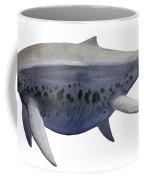 Shonisaurus, A Prehistoric Ichthyosaur Coffee Mug by Sergey Krasovskiy
