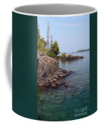 Shore Of Isle Royale Coffee Mug