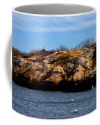 Rockport Shore Rocks - Greeting Card Coffee Mug