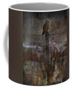 Short Eared Owl Coffee Mug