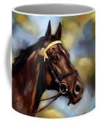 Show Horse Painting Coffee Mug