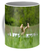Showing Her Feet Coffee Mug