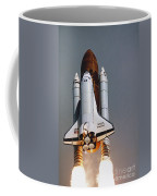 Shuttle Lift-off Coffee Mug by Science Source