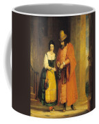Shylock And Jessica From 'the Merchant Of Venice' Coffee Mug