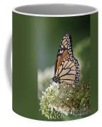 Side Profile Of A Monarch Coffee Mug