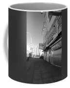 Sidewalks Of Gum In Black And White Coffee Mug