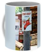 Sign - Fire Chief Gasoline Coffee Mug