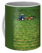 Silage Making, Ireland Coffee Mug
