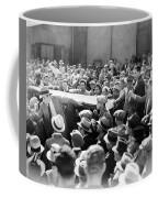 Silent Film: Crowds Coffee Mug