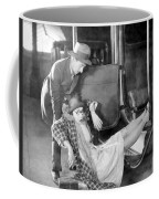 Silent Film Still: Accidents Coffee Mug