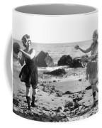 Silent Film Still: Beach Coffee Mug