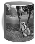 Silent Film Still: Golf Coffee Mug
