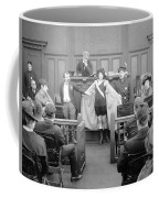 Silent Still: Courtroom Coffee Mug