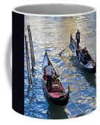 Silently Drifting Gondolas Coffee Mug