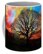 Silhouette In Winter Coffee Mug