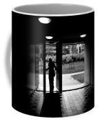 Silhouette Of A Man Coffee Mug