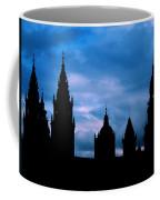 Silhouette Of Spanish Church Coffee Mug by Jasna Buncic