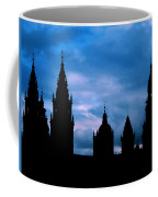 Silhouette Of Spanish Church Coffee Mug