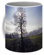 Silhouette Of Tree Coffee Mug