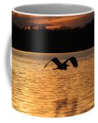 Silouette On The Lake Coffee Mug