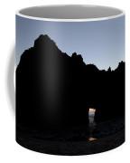Silouette Pfeiffer Rock Coffee Mug