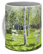 Silver Birches Coffee Mug by Lucy Willis