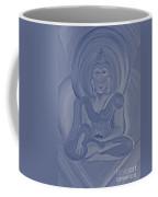 Silver Buddha Coffee Mug